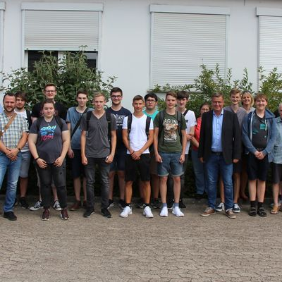 Gruppenfoto IT-Camp 2018