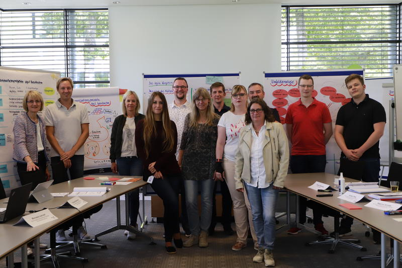 Bild vergrößern: Workshop Agiles Projektmanagement 2019