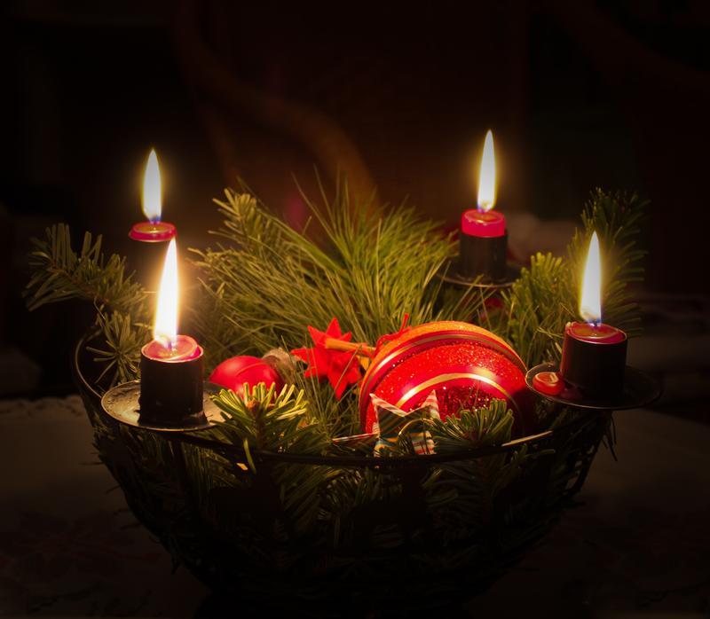 2017 Weihnachten Adventskranz